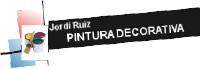 Jordi Ruiz. Pintura decorativa - Logotip color