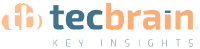 Tecbrain. key insights. Logotip color